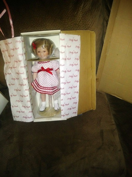 Selling Danbury Mint Shirley Temple Dolls