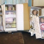 Selling Danbury Mint Shirley -Temple Dolls - dolls in boxes
