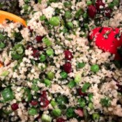 Spinach, Bean and Quinoa Salad