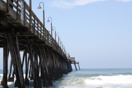 The pier at Imperial Beach, CA