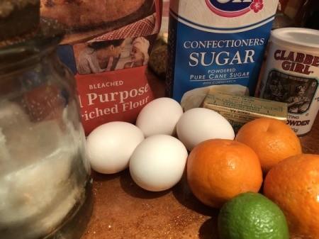 Tangerine Lime Bar ingredients