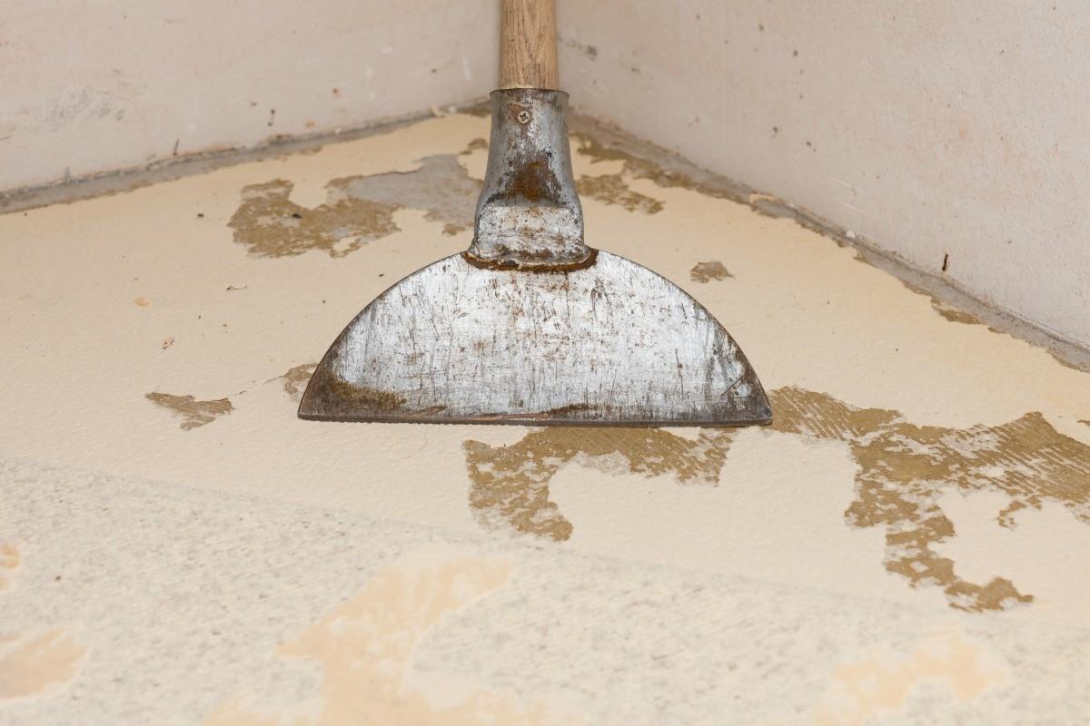 Removing Stubborn Carpet Adhesive