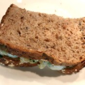 Turkey Mozzarella Spinach Sandwich