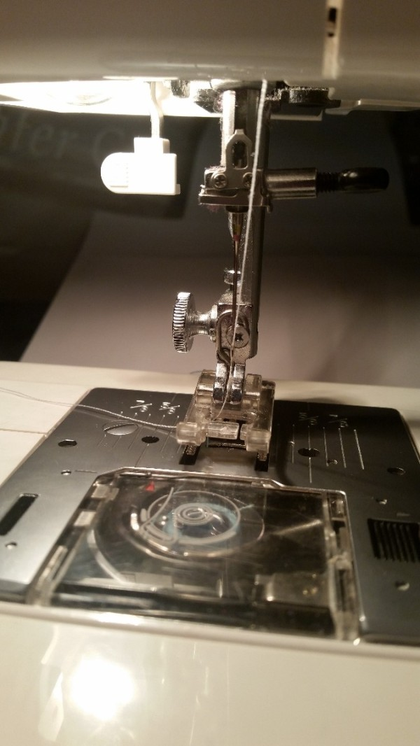 Kenmore 40 Sewing Machine Not Feeding Fabric ThriftyFun Amazing How To Thread Kenmore Sewing Machine 385