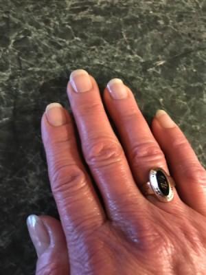 DIY Manicure - finished nails