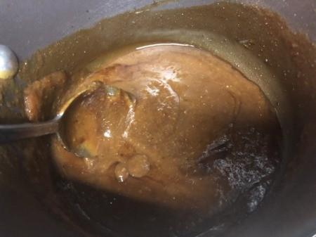 mixing miso sauce