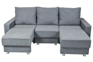 Chaise Lounge Style Sectional Sofa.