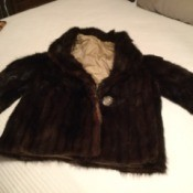 Fur Jacket Keepsake Craft Ideas - short fur jacket