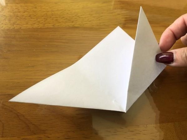 Folded Paper Bunny Corner Bookmark