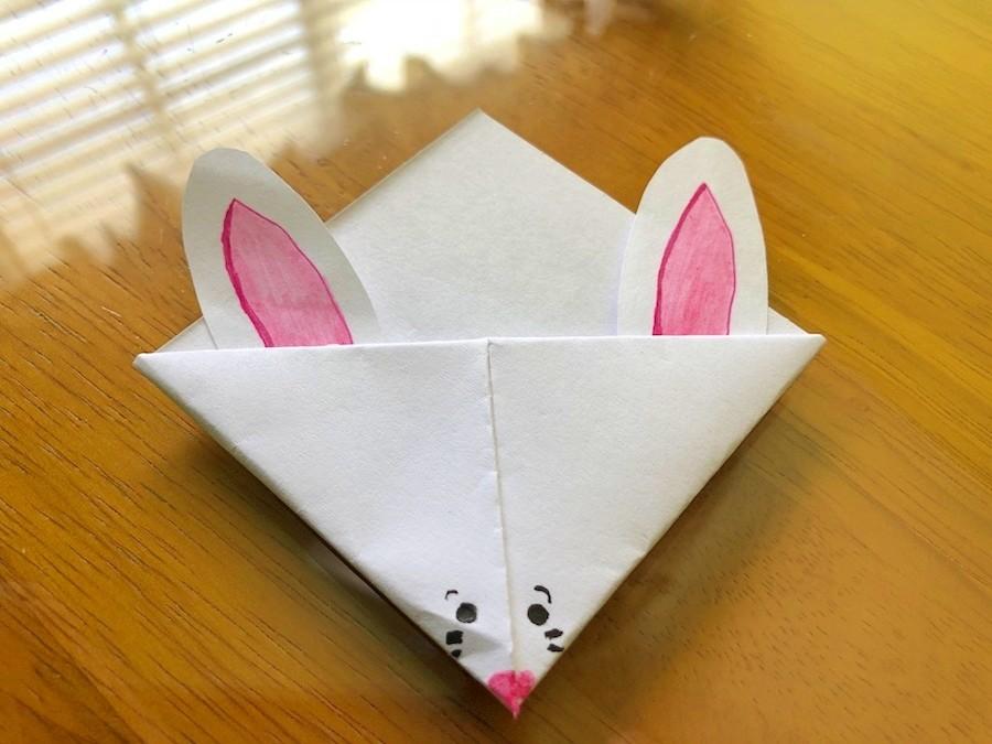 Bunny Corner Bookmark   675x900