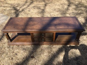 Value of a Mersman Coffee/Entertainment Table - two tiered coffee table