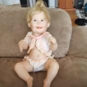 Value of an Ashton Drake  Porcelain Doll - baby doll