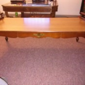 Value of a Mersman Coffee Table