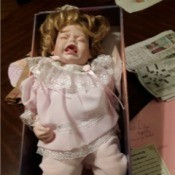 Value of an Ashley Belle Collectible Doll - crying baby doll