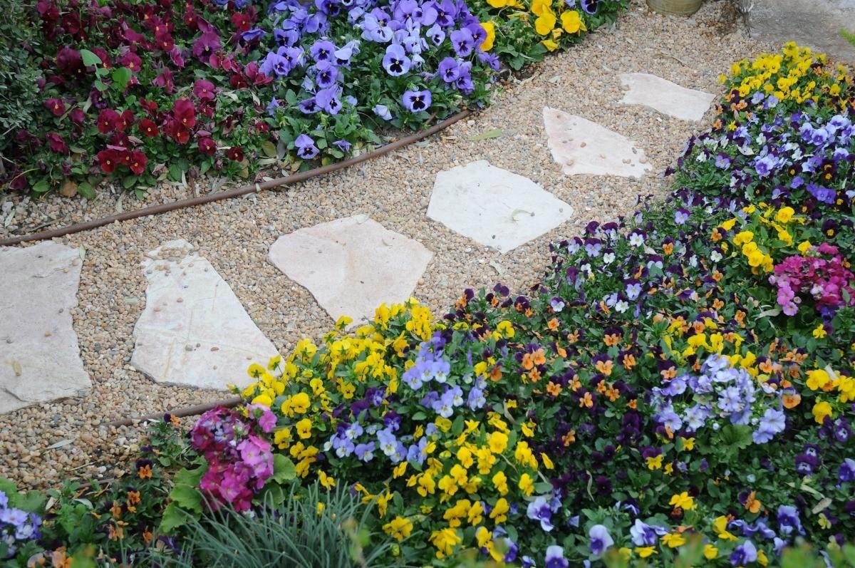 Making An Easy Gravel Garden Path Thriftyfun