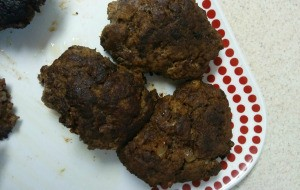 cooked Meat Loaf Patties