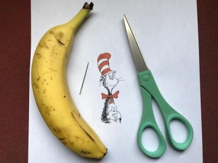 Making Detailed Banana Art - supplies