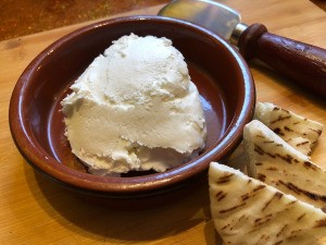 Greek Yogurt Cream Cheese in bowl