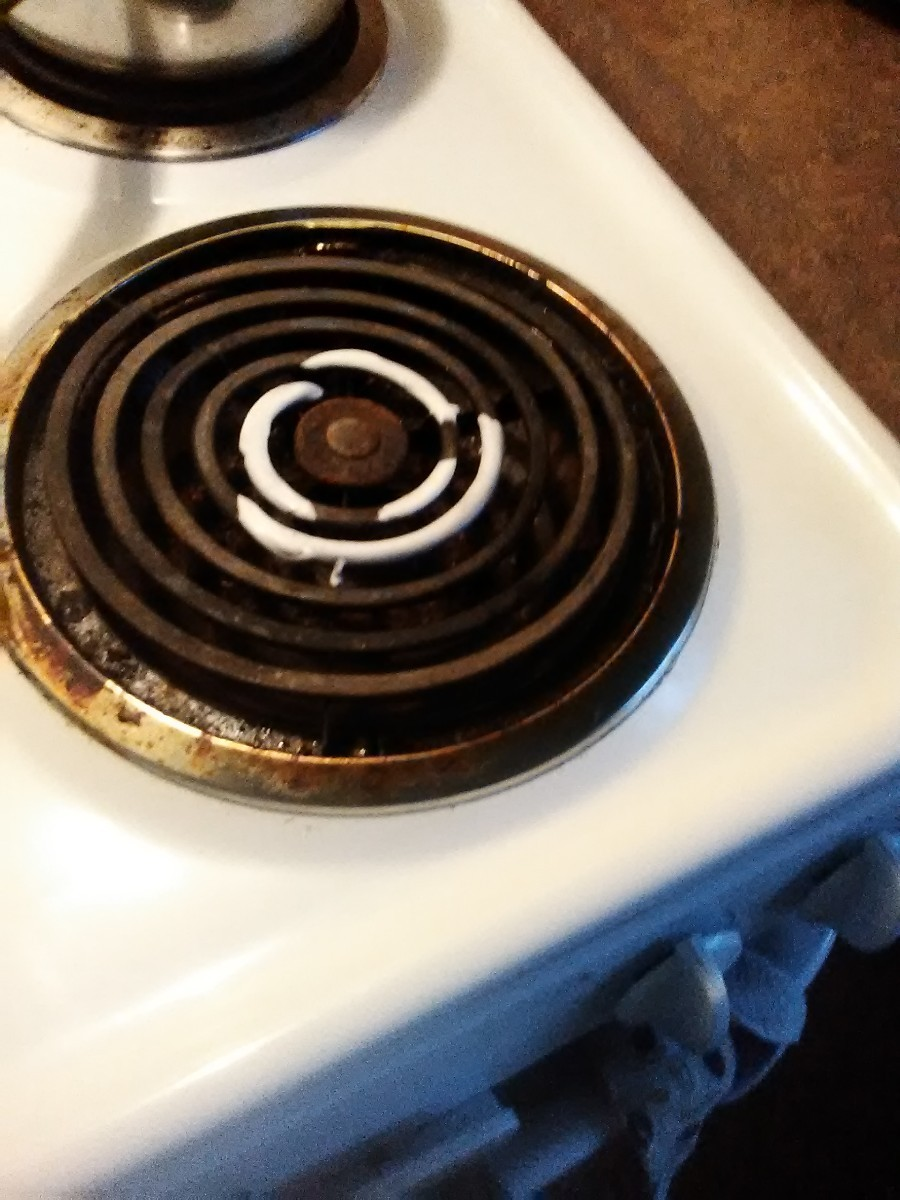 removing melted plastic from electric burner x5 - How To Get Melted Plastic Off Oven Heating Element