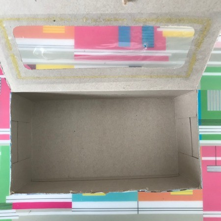 Coupon Organizer Made from a Tissue Box - cut top of box to make a flap or lid