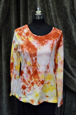 Flames of Love Tie Dye T-Shirt - pretty long sleeve tie dye shirt