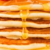 Sugar-Free syrup on pancakes