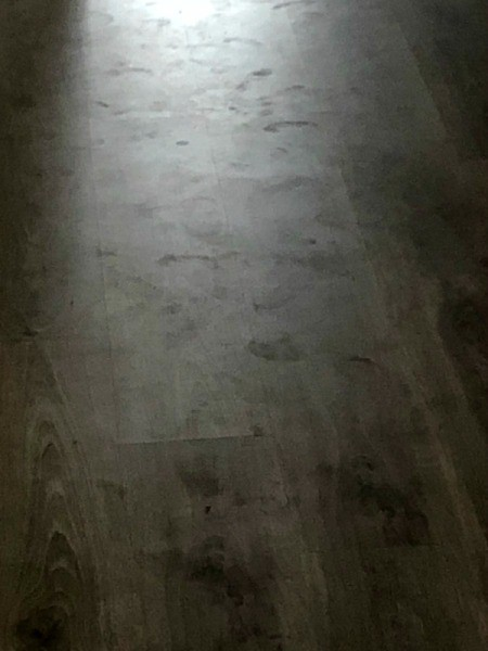 Laminated Flooring Has Stains and Smudges - floor