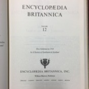 Value of Encyclopedia Britannica Set (1969) - cover page