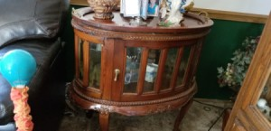 Value of Glass Topped Oval End Tables