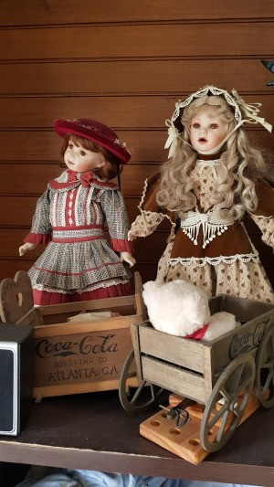 Value of Coca Cola Dolls - period dolls