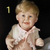 Value of Franklin Mint Dolls - baby doll