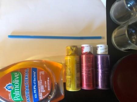 Bubble Art - supplies