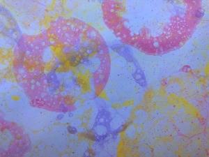 Bubble Art - closeup of bubble art