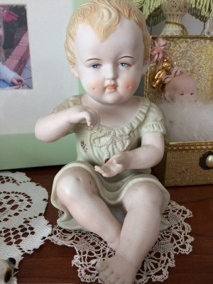 Value of Porcelain Dolls and Figurines - porcelain child figurine