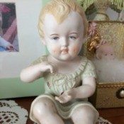 Value of Porcelain Dolls and Figurines - porcelain child figurine