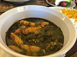 Rhubarb Stew in bowl