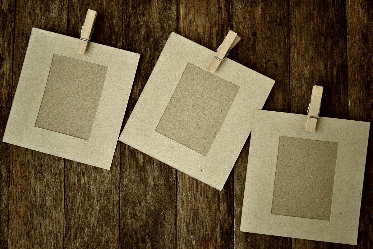 How To Make A Clothespin And Wood Picture Frame Thriftyfun