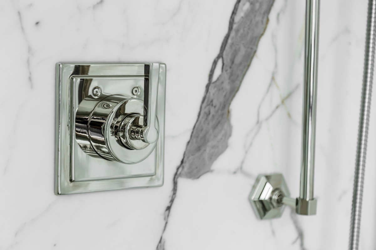 How to Clean Buildup on a Marble Shower | ThriftyFun