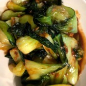 Spicy Bok Choy Side Dish