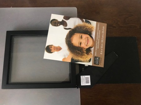 Custom Photo Frame Mat  - choose the frame size you wish and remove the paper inside