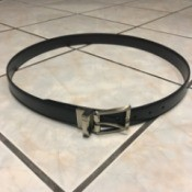 Reconstructed Belt on a Budget - finished belt