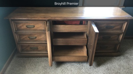 Value of Broyhill Dressers