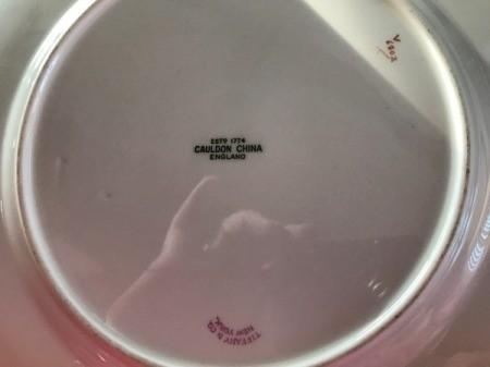 Value of Tiffany Plates by Cauldon