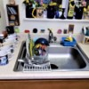 Small Dish Drainer for Sink - vinyl coated dish rack