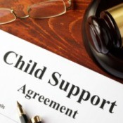 Child Support agreement paperwork