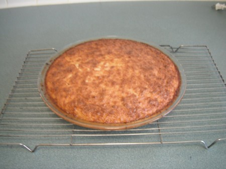 baked Gluten Free Coconut Pie