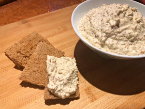 Vegan Almond Spread on bread