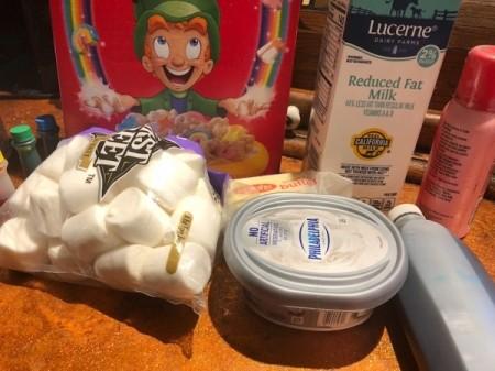ingredientsCheesecake