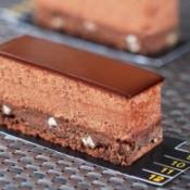 Chocolate bar dessert.