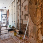 Older home in Florida being repaired